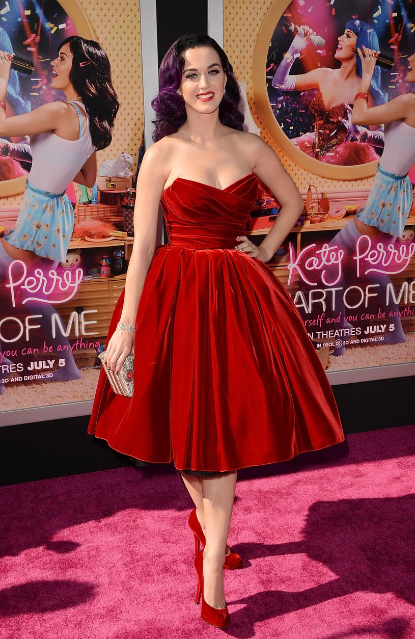 Katy Perry w sukience Dolce&Gabbana /Getty Images