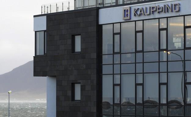 Kaupthing bank - siedziba Reykjaviku /AFP