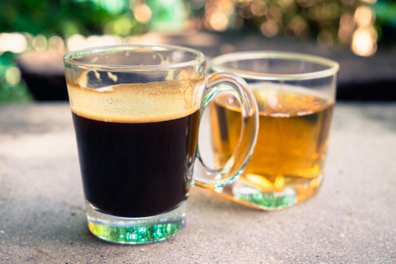 Kawa i zielona herbata /©123RF/PICSEL