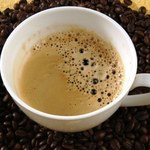 Kawa ze zbocza wulkanu