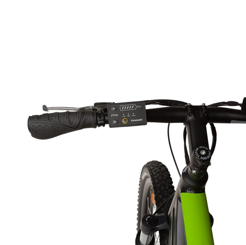 Kawasaki Electric Trekking MTB /materiały prasowe