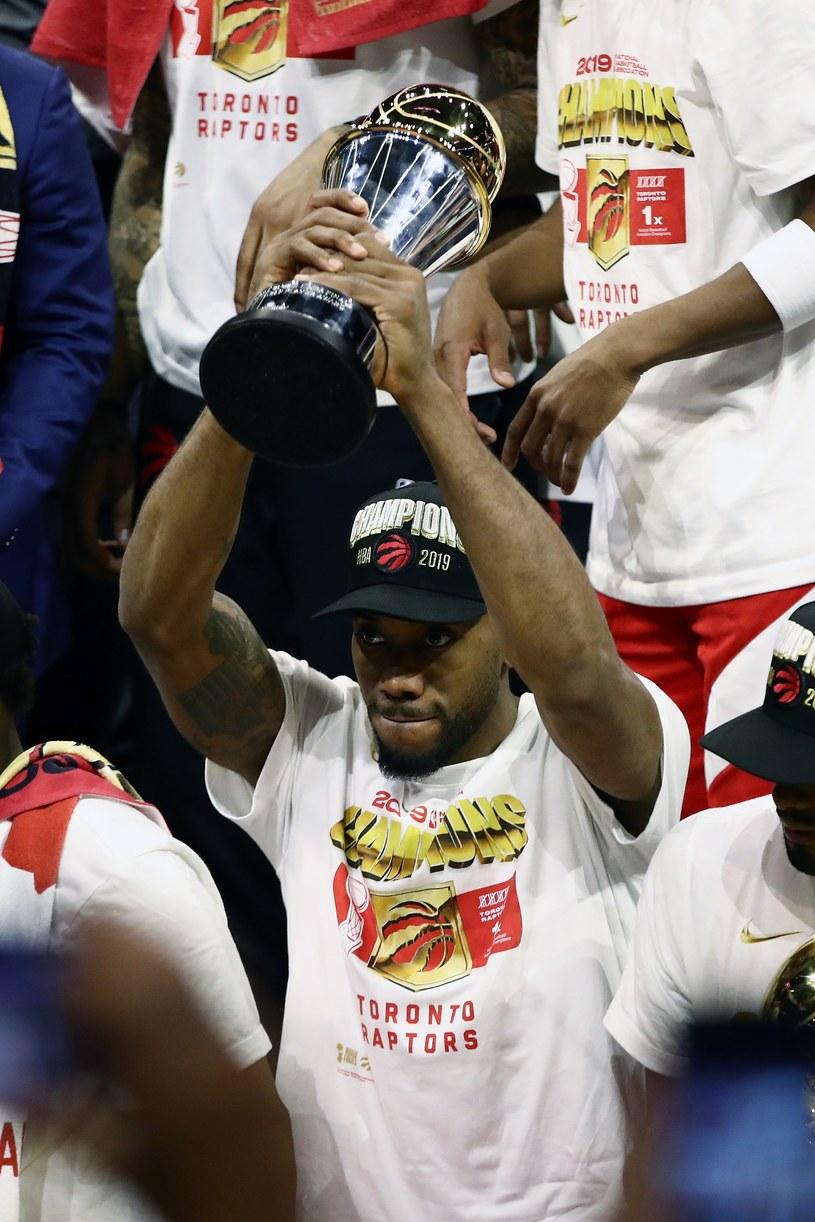 Kawhi Leonard #2 z Toronto Raptors wyvbrany MVP /AFP