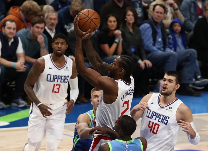 Kawhi Leonard z Los Angeles Clippers /AFP