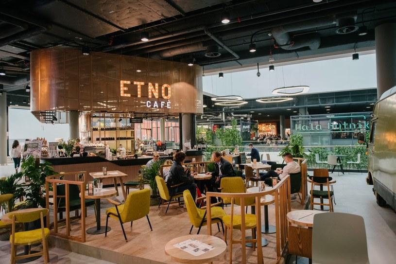 Kawiarnia Ento Cafe w Hali Hutnik Galerii Młociny /materiały promocyjne