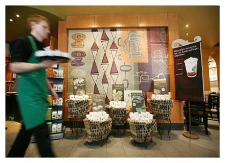 Kawiarnia Starbucks na Nowym Świecie /materiały prasowe