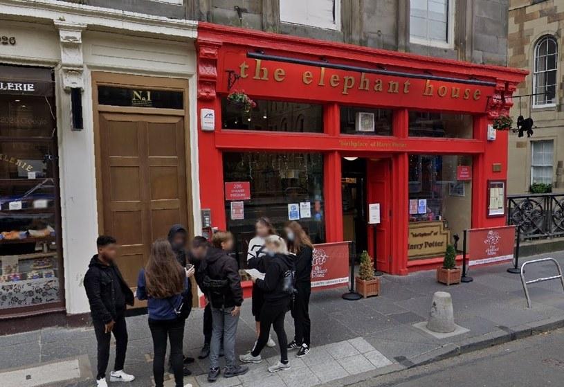 """Kawiarnia """"The Elephant House"""" w Edynburgu spłonęła 24 sierpnia /Google Maps /"""