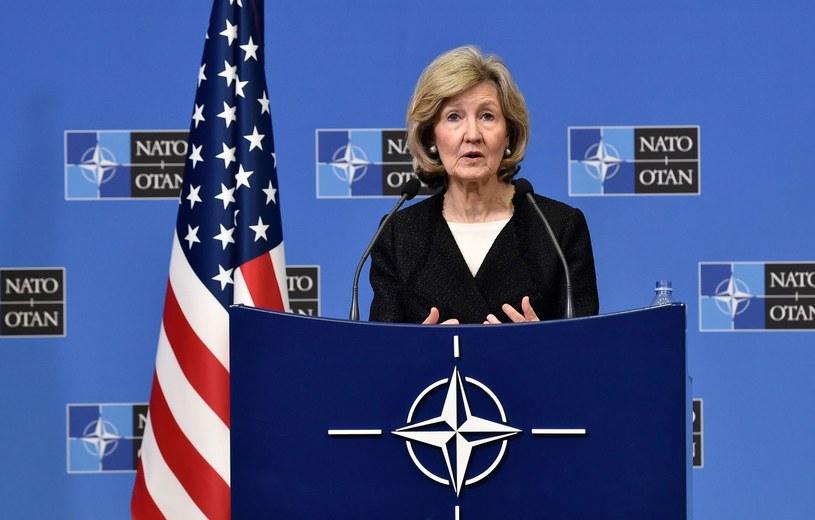 Kay Bailey Hutchison /JOHN THYS /AFP