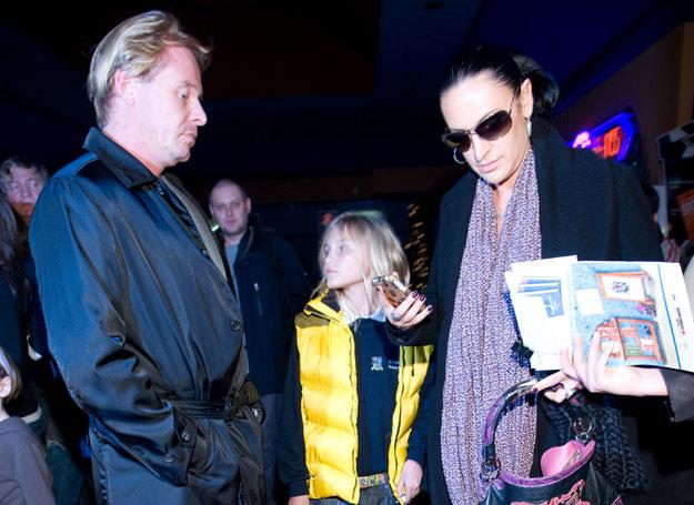 Kayah, Rinke Rooyens z synem  /fot. J. Antoniak /MWMedia