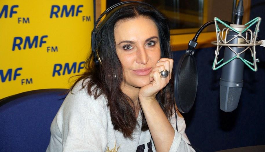 Kayah w studiu nagrań RMF FM /Daniel Pączkowski /RMF FM