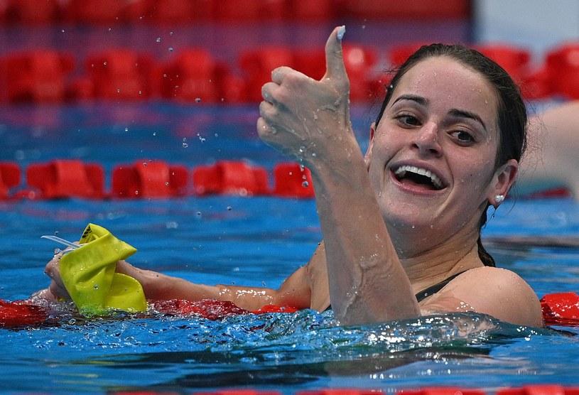 Kaylee McKeown triumfuje /AFP