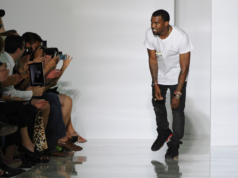 Kayne West zaprezentował swoją pierwszą kolekcję  /Getty Images/Flash Press Media