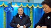 Kazachstan: 95,5 proc. głosów dla Nazarbajewa