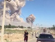 Kazachstan: Ewakuacja miasta po wybuchu w magazynie amunicji