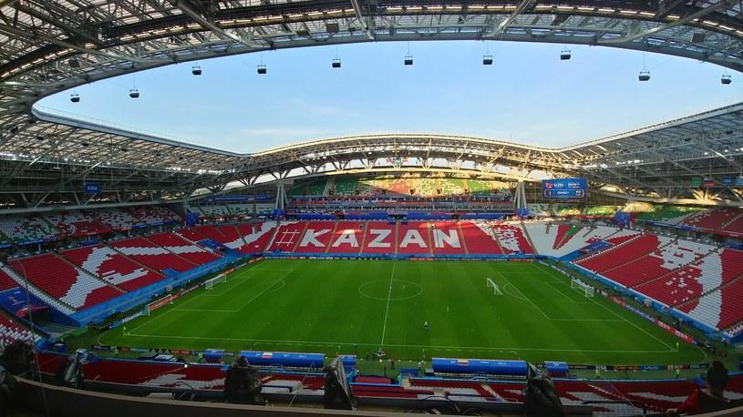 Kazań Arena - to tutaj w niedzielę wieczorem Polacy zmierzą się z Kolumbią /Rafał Walerowski /INTERIA.PL