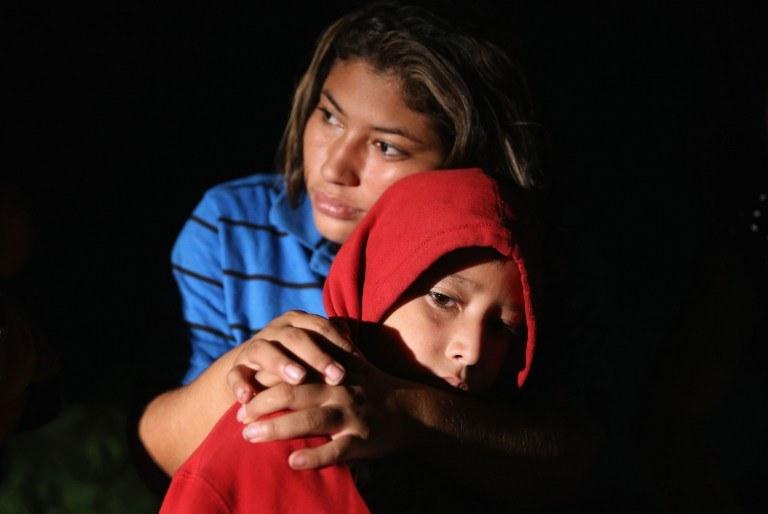 Każdego roku setki tysięcy obcokrajowców chce przez Meksyk nielegalnie przedostać się na teren USA; zdj. ilustracyjne /JOHN MOORE / GETTY IMAGES NORTH AMERICA /AFP