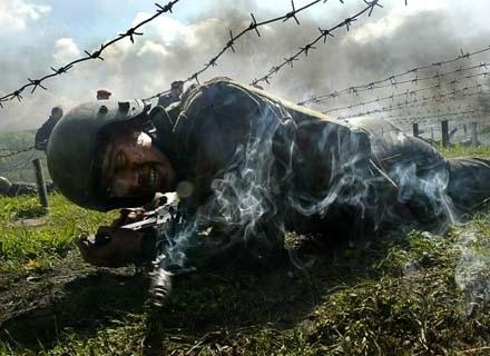 Każdego roku w Rosji giną lub odnoszą obrażenia tysiące poborowych /AFP