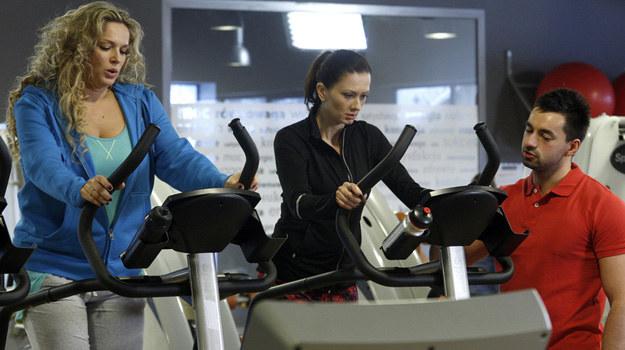 Każdy, kto sądził, że zobaczy Joannę Liszowską czy Małgorzatę Sochę bez makijażu podczas ćwiczeń, będzie zawiedziony. /Jordan Krzemiński /AKPA