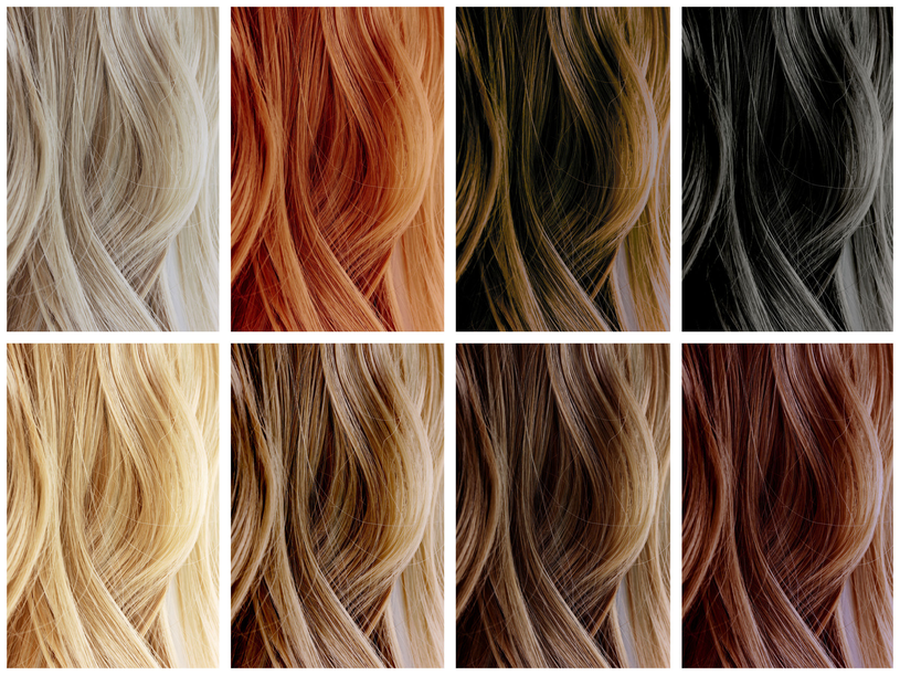 Każdy odcień lubi inną roślinę.  Orzech wykorzystywany jest do ciemnych włosów /Picsel /123RF/PICSEL