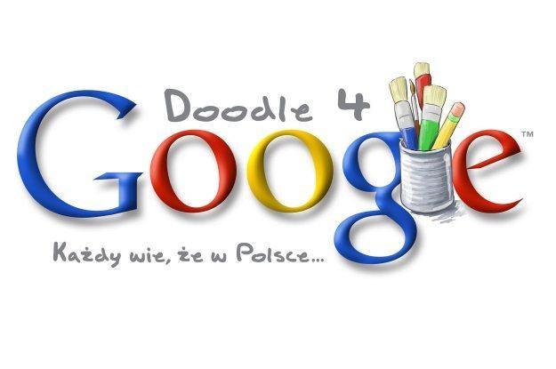 """""""Każdy wie, że w Polsce…"""" to hasło konkursu na specjalne logo Google /materiały prasowe"""