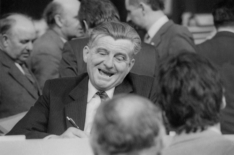 Kazimierz Barcikowski. Zdjęcie z 1984 roku /Grzegorz Roginski /Reporter