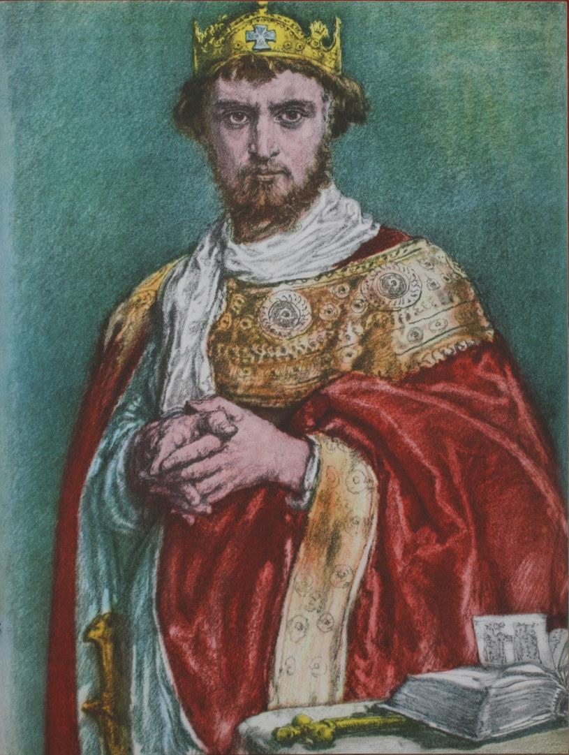 Kazimierz I Odnowiciel, malował Jan Matejko. Reprodukcja /FoKa /Agencja FORUM