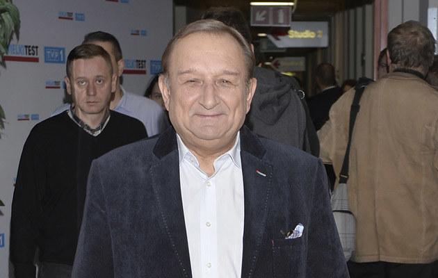 Kazimierz Kaczor wraca do telewizji! /Gałązka /AKPA