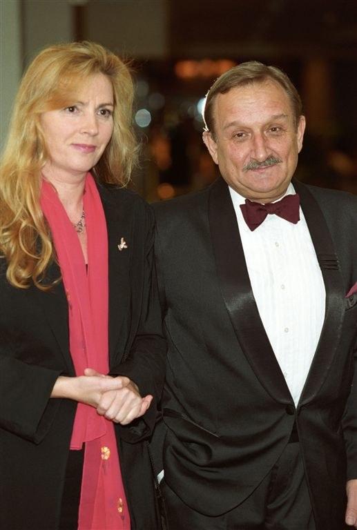 Kazimierz Kaczor z żoną /Agencja W. Impact