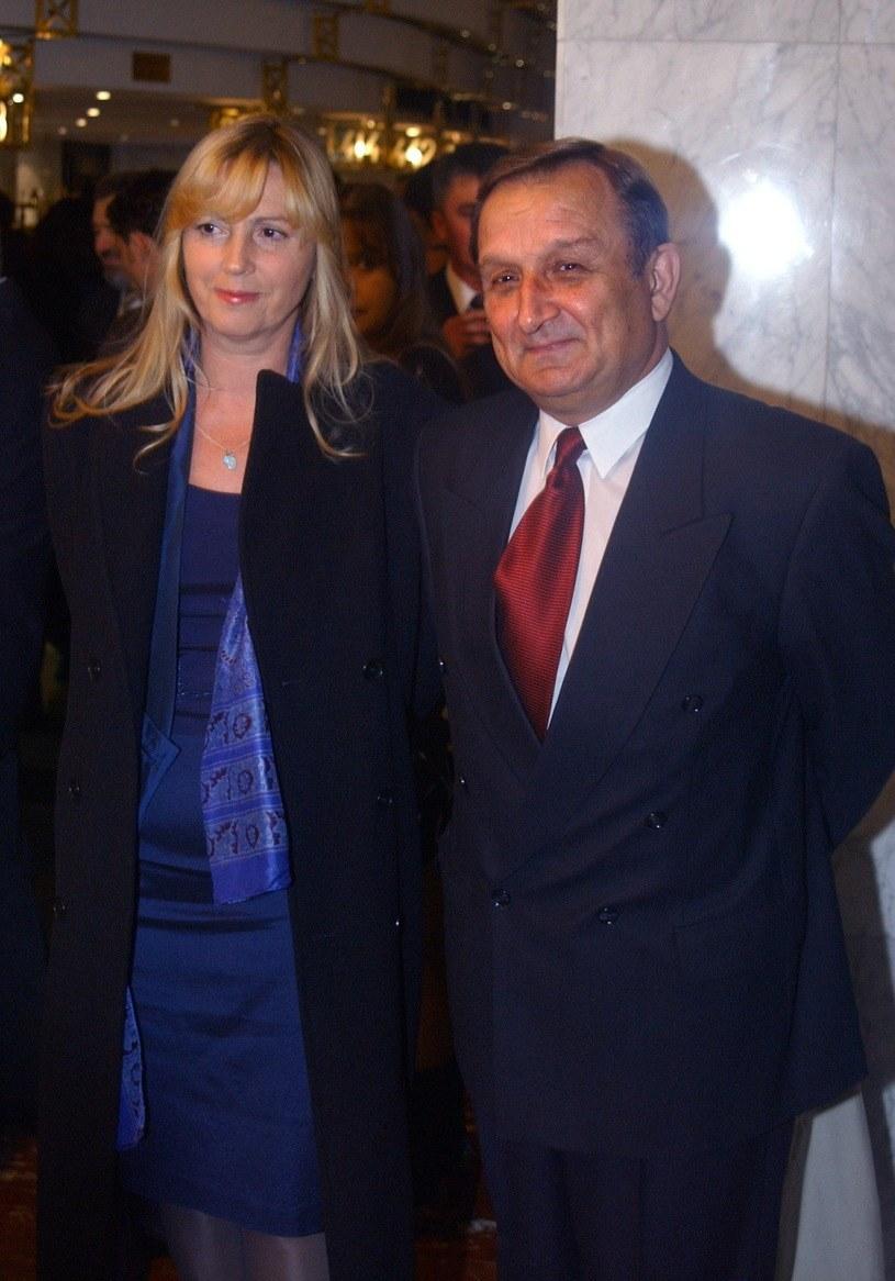 Kazimierz Kaczor z żoną /Tricolors /East News