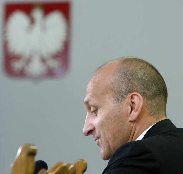 Kazimierz Marcinkiewicz, b. premier rządu RP. Fot. Stanisław Kowalczuk /East News