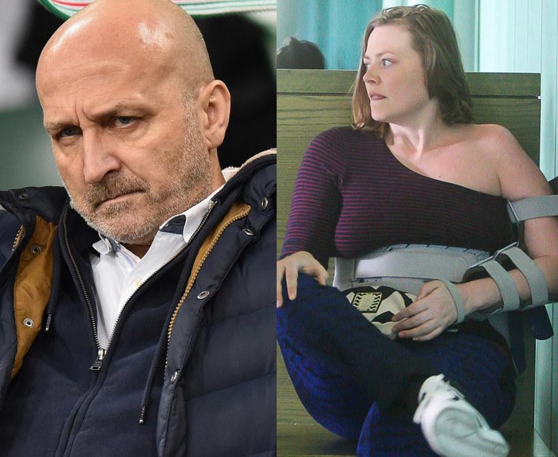 Kazimierz Marcinkiewicz i Isabel, fot. Mateusz Jagielski, Jan Biały /East News