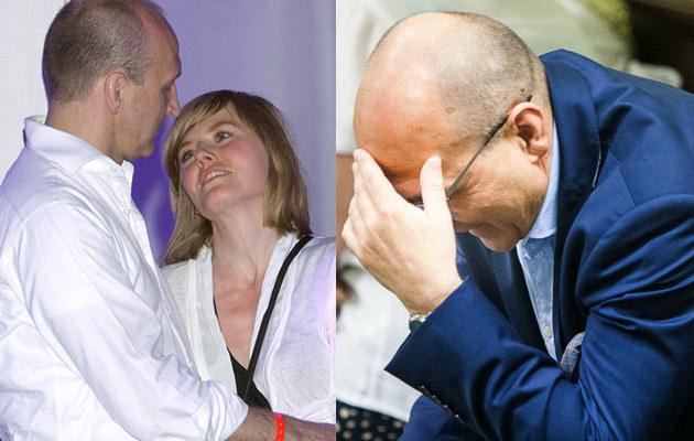 Kazimierz Marcinkiewicz i Isabel nie mogą dogadać się co do warunków rozwodu /AKPA Baranowski Michał /East News