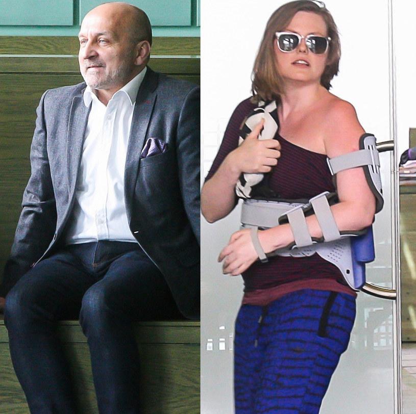 Kazimierz Marcinkiewicz i Isabel Olchowicz-Marcinkiewicz /Jan Biały /East News