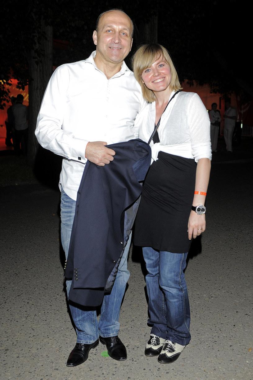 Kazimierz Marcinkiewicz i Izabela, 2011 rok /Kurnikowski /AKPA