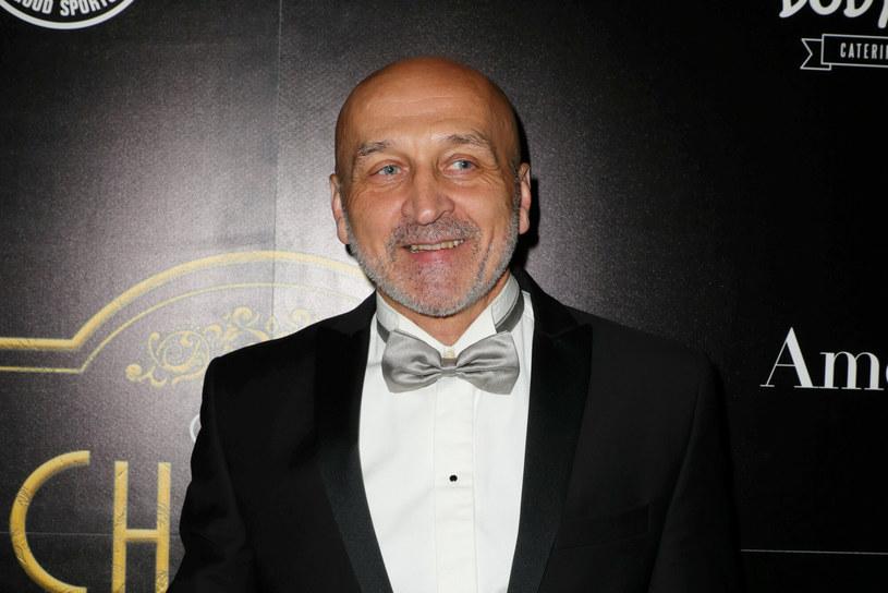 Kazimierz Marcinkiewicz podczas Collins Charity Fight Night /Piotr Molecki /East News