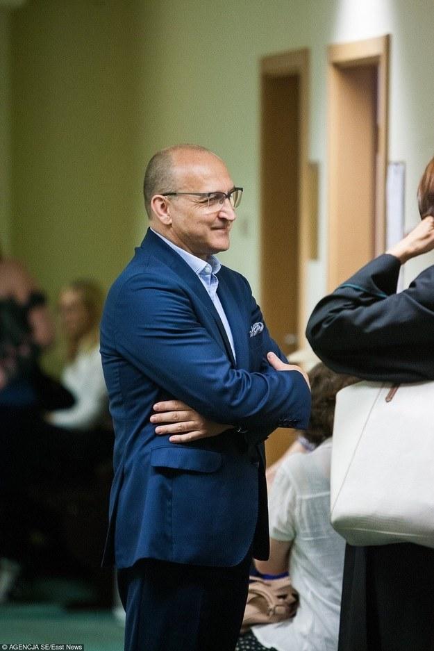 Kazimierz Marcinkiewicz przed rozprawą /Piotr Grzybowski/SE /East News