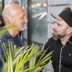 Kazimierz Marcinkiewicz ucina sobie pogawędkę z Liroyem na otwarciu restauracji!