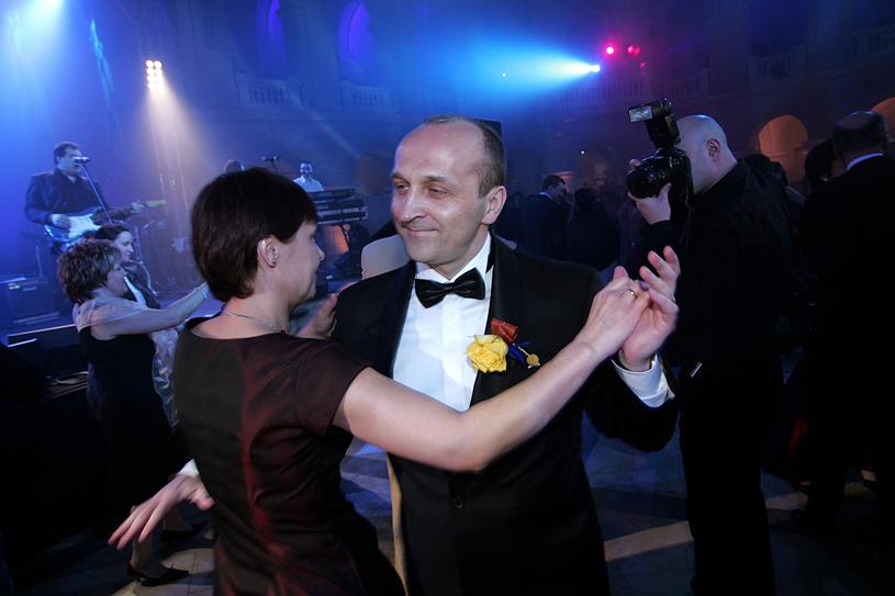 Kazimierz Marcinkiewicz z pierwszą żoną, 2006 rok /Warda /AKPA