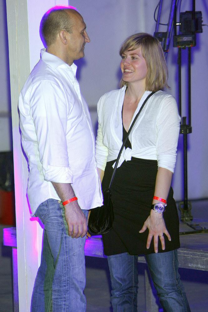 Kazimierz Marcinkiewicz z żoną Izabelą /Michał Baranowski /AKPA