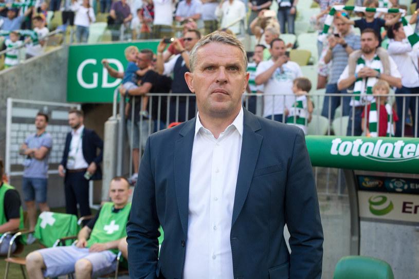 Kazimierz Moskal był trenerem Pogoni w ubiegłym sezonie. Zrezygnował ze względów zdrowotnych /Piotr Hukalo /East News