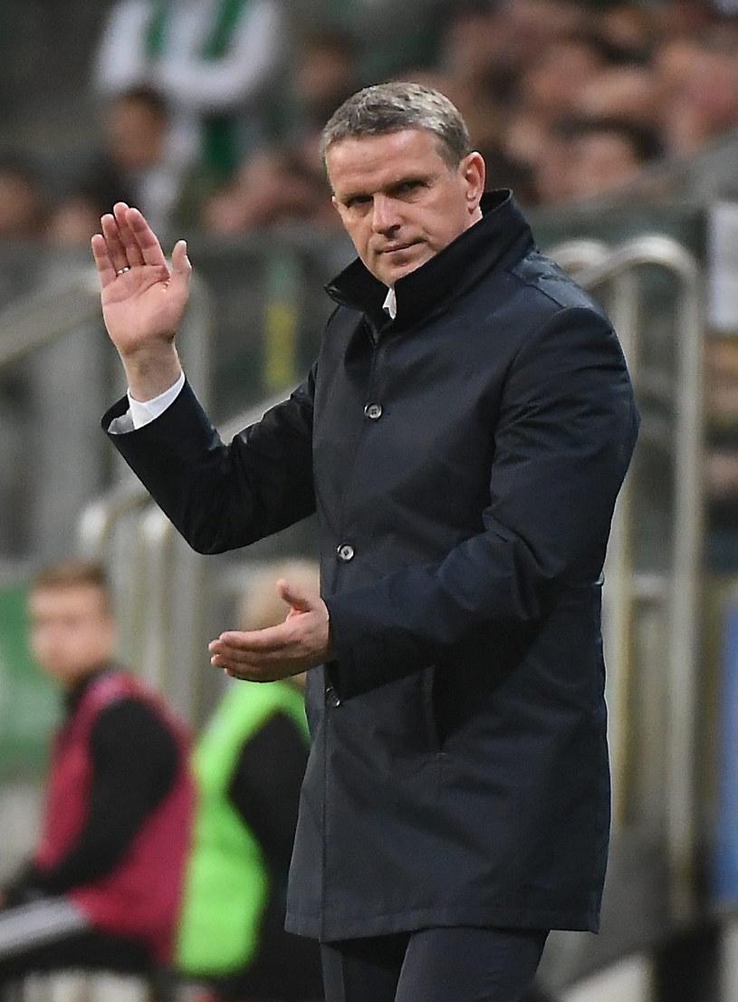 Kazimierz Moskal, trener Pogoni /Bartłomiej Zborowski /PAP
