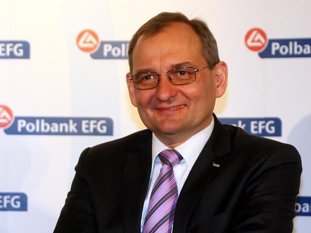 Kazimierz Stańczak, pierwszy wiceprezes Raiffeisen Polbank. Fot. MARIUSZ GRZELAK /Agencja SE/East News