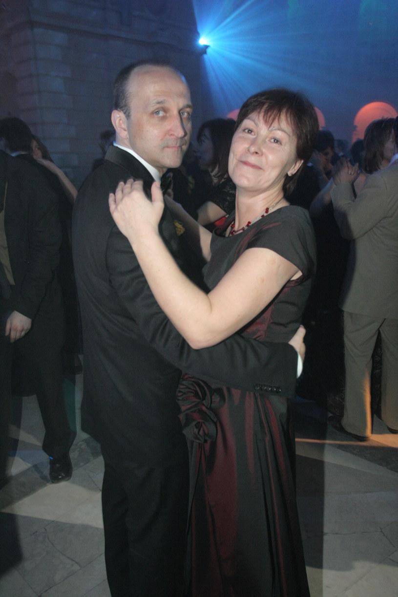 Kazimierz z pierwszą żoną, Marią /- /Agencja FORUM