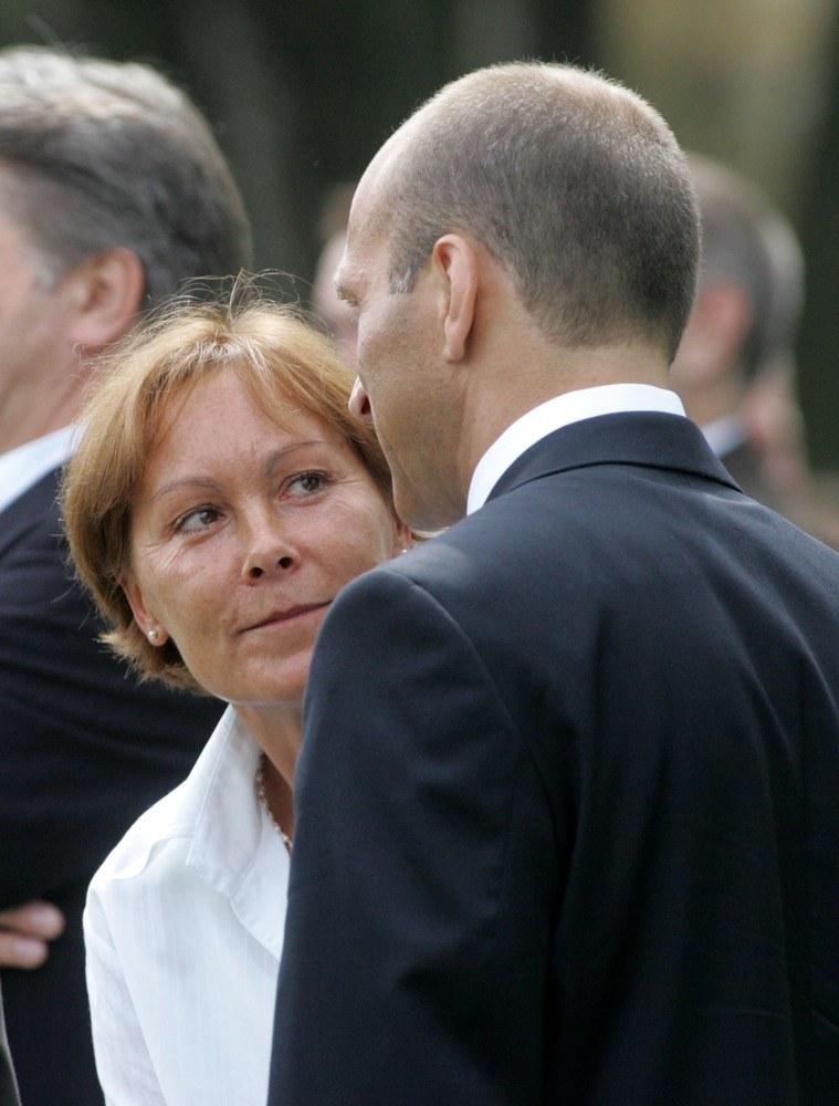 Kazimierz z pierwszą żoną /- /East News
