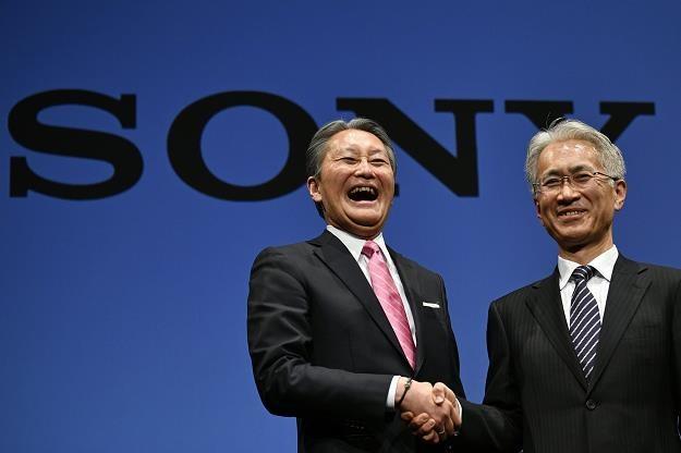 Kazuo Hirai (L) i Kenichiro Yoshida /EPA
