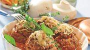 Kebab z sosem - potrawy z mięsa mielonego