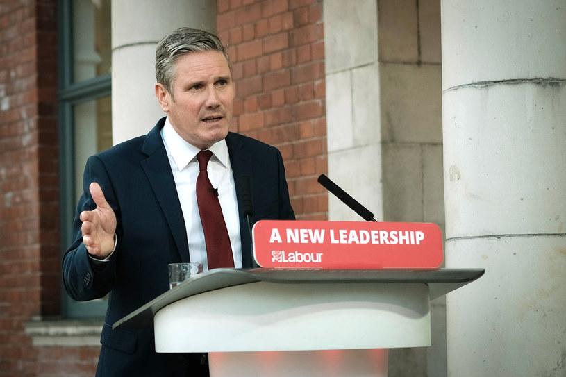 Keir Starmer w Doncaster /AFP