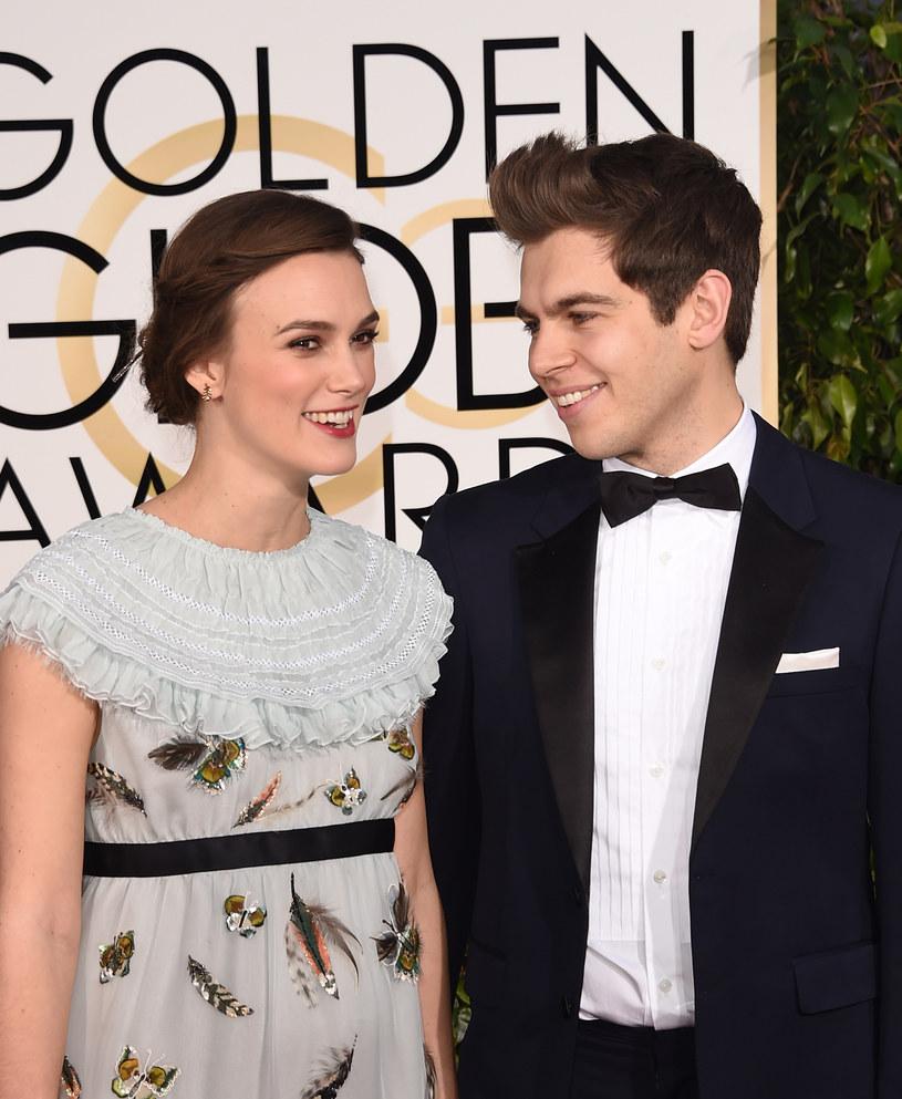 Keira Knightley i James Righton /Jason Merritt /Getty Images
