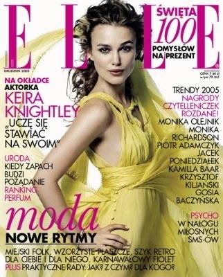 Keira Knightley - ostatnia okładka roku 2005 /ELLE
