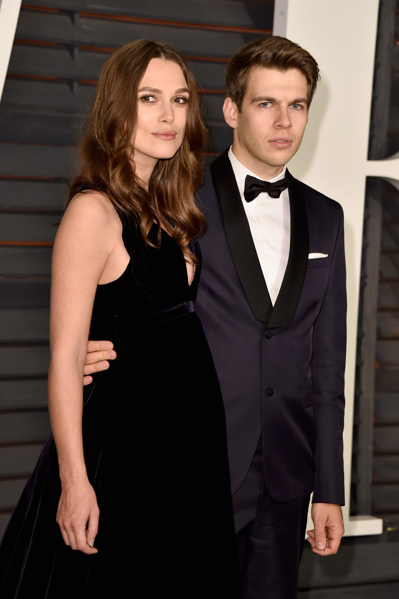 Keira Knightley z mężem /Pascal Le Segretain /Getty Images