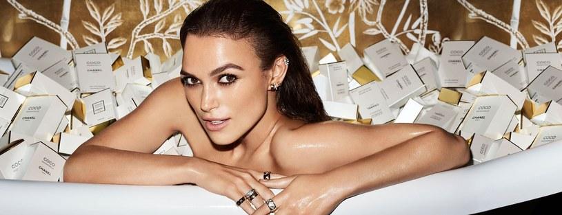 Keira Knightley - zdjęcie z kampanii perfum Chanel Coco Mademoiselle /Balawa Pics /East News
